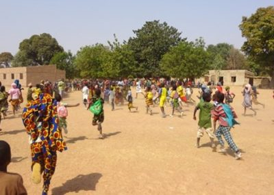 Improvement capacity and quality of education in Mali