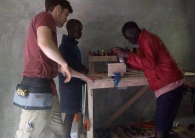 Expansion joiner training in Kenya