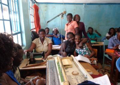 Vocational training for street children in Kenya
