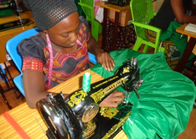 Expansion sewing training centre in Tanzania
