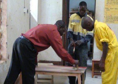 Tools for craft school in Uganda