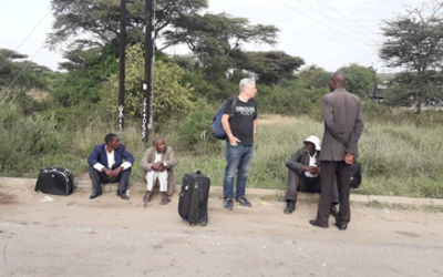 Paul's project visit to East Africa