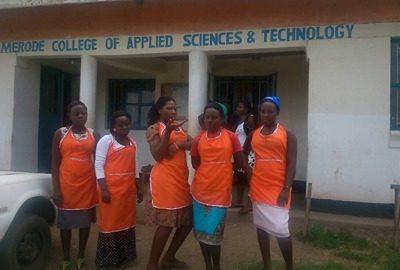 Training material for Van Merode College in Uganda
