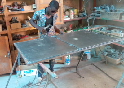 Tools for vocational training and apprenticeship in Cameroon