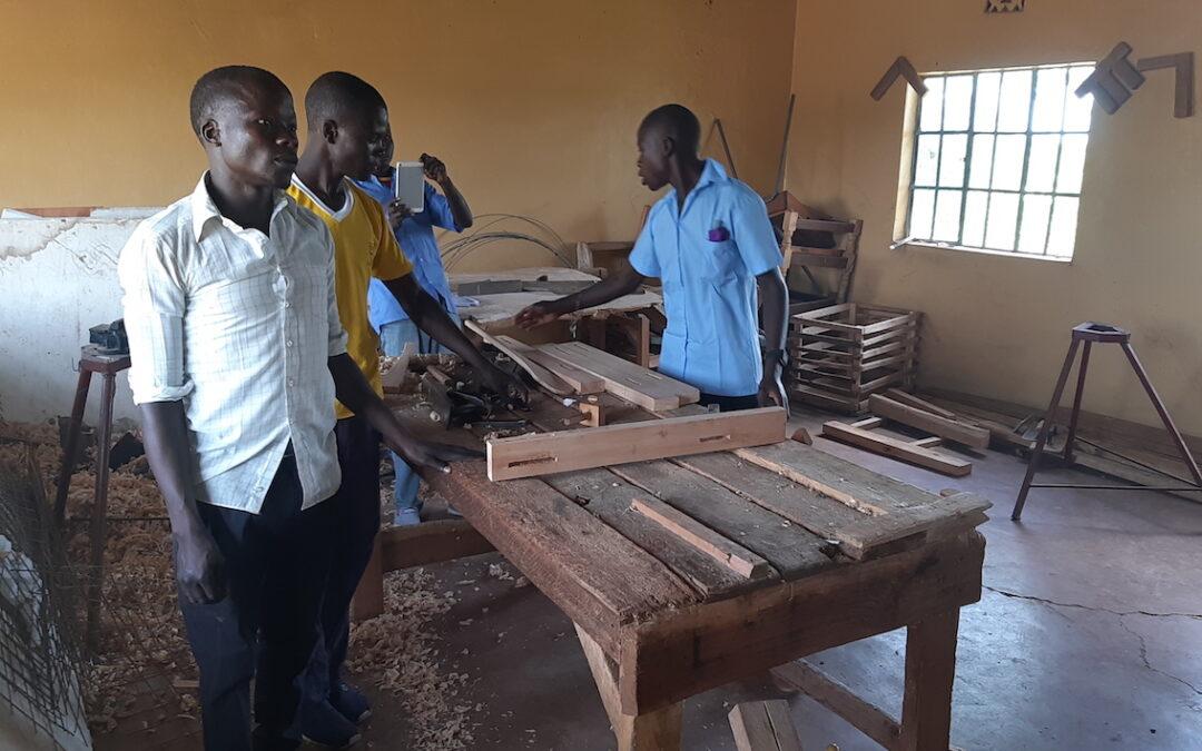 Tools for vocational training in Lambwe – Homa Bay – Kenya