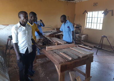 Tools for vocational training in Lambwe – Homa Bay – Kenya
