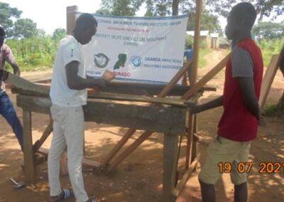 CUWEDE vocational training for unemployed youth in Nebbi – Uganda